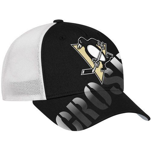 3c2c08619ce NHL Reebok Sidney Crosby Pittsburgh Penguins Player Stretch Fit Hat - Black White  (Large X-Large) by Reebok.  23.88. Reebok Sidney…