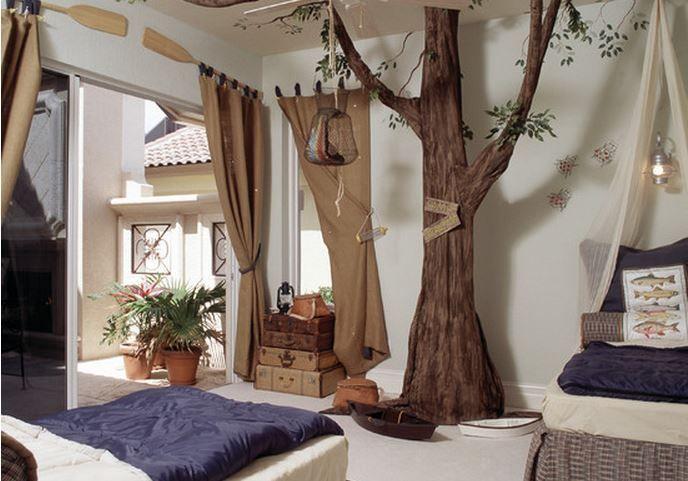 Les 25 meilleures id es concernant chambre a th mes de for Decoration chambre zoo