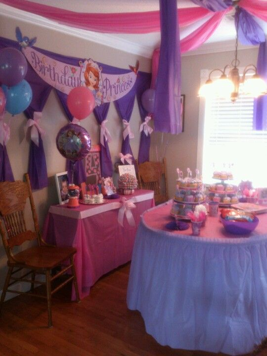 Sofia the First Party by Lara Talley