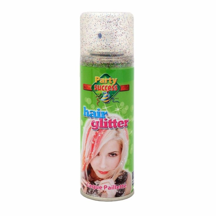 Wash Out Multi Coloured Glitter Temporary Hair Coloured Party Sprays