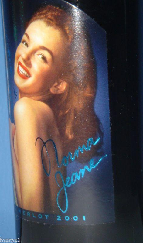 Norma Jeane Marilyn Monroe 2001 Fourth Vintage Merlot New Sealed Rare Mint  #MarilynMerlot #Red
