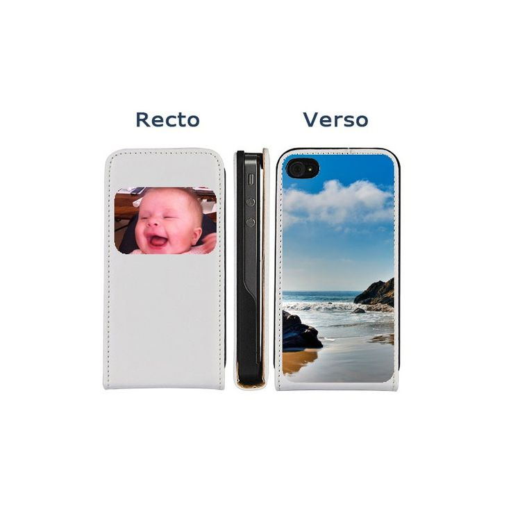 Housse iPhone 4/4S personnalisée Recto/Verso avec vos images préférées. Enfin une housse de protection 100% personnalisable! Port gratuit