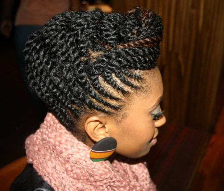 Astounding 1000 Images About Protective Hairstyles On Pinterest Ghana Short Hairstyles Gunalazisus