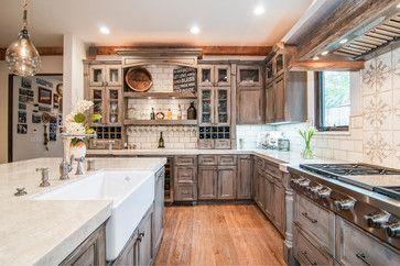 La Jolla Shores Tuscan - mediterranean - Kitchen - San Diego - Nau Builders, Inc.