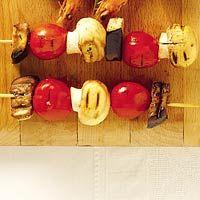 Recept - Aubergine met champignon en tomaat - Allerhande