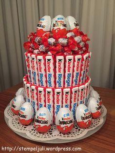 Letztes Wochenende waren wir zu dem Geburtstag des Bruders meines Freundes eingeladen. Und ich wollte schon immer mal diese tolle Torte probieren, die ich bei Pinterest gesehen hatte. Da ich aber k...: