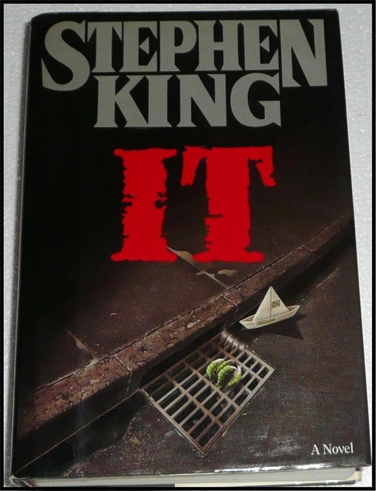 IT by Stephen King (HB w/dj) 1st Edition 1986