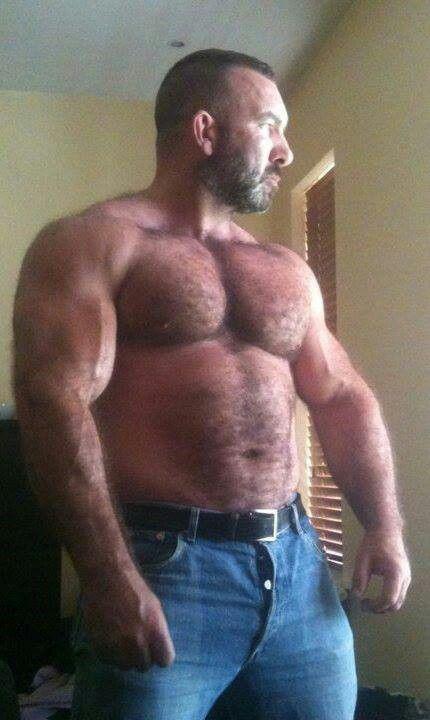 Gay hairy muscular men TIDYSTORING. GQ