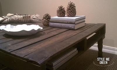DIY Ottoman : DIY Pallet Coffee Table/Ottoman! DIY Furniture