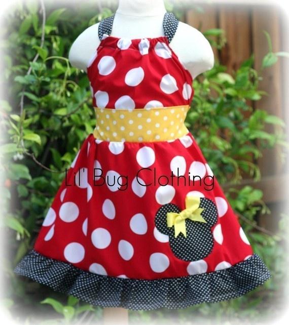 Cute Disney dresses for a little girl