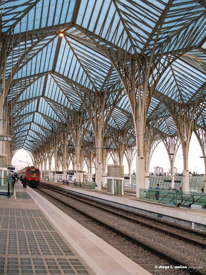 Estação do Oriente. Lisboa. Diego Francisco Molina