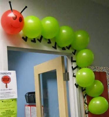 ARTE COM QUIANE - Paps,Moldes,E.V.A,Feltro,Costuras,Fofuchas 3D: Dicas decoração para sala de aula infantil