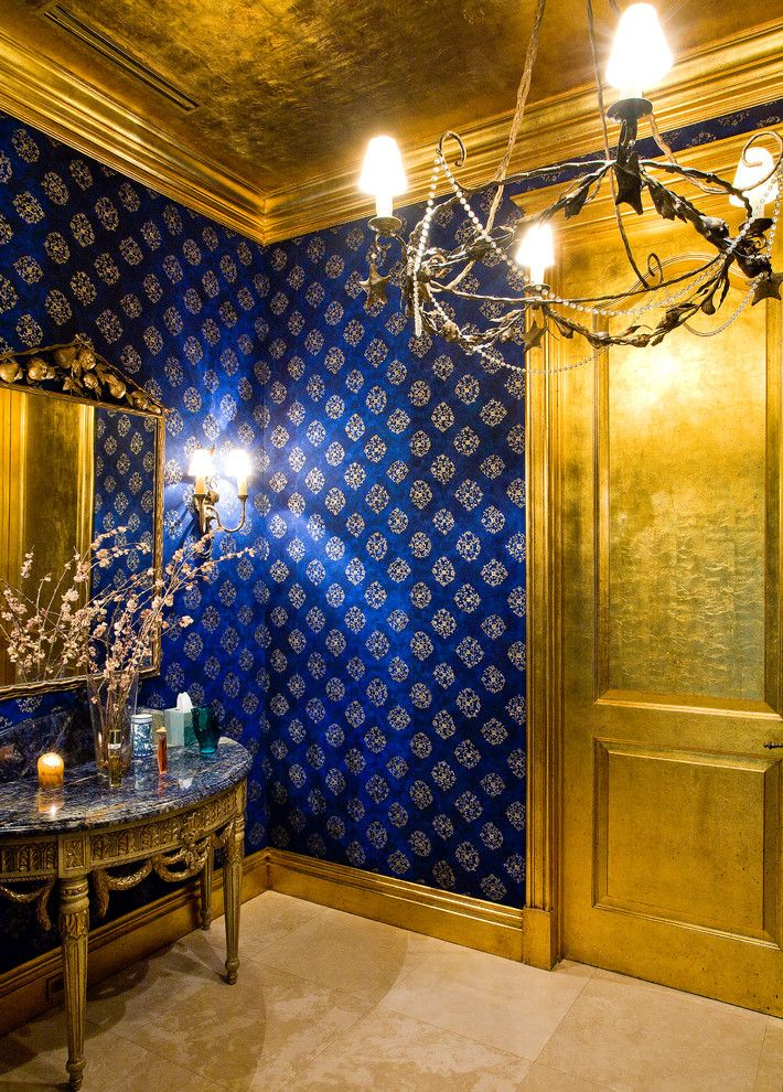 25 best ideas about royal blue bedrooms on pinterest for Blue and gold bathroom ideas
