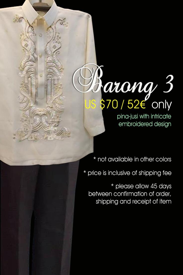 Barongs Barong tagalog and Modern