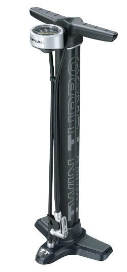 Topeak JoeBlow Twin Turbo Bike Pump Black #bicycleaccessories