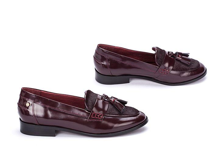 Zapatos Yolanda en burdeos... ¡Oh my god!