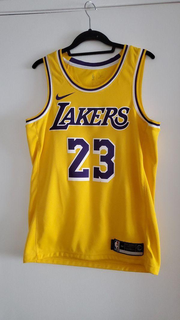Lakers Jersey 23 Lebron James size 44 M nike | Lebron james ...