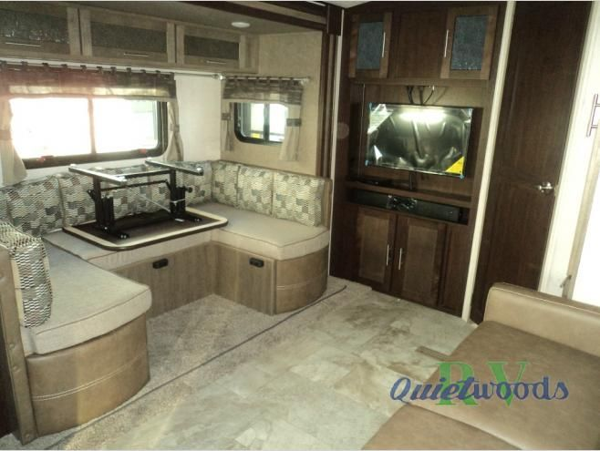 New 2017 Forest River RV Surveyor 251RKS Travel Trailer at Quietwoods RV | Neenah, WI | #3626
