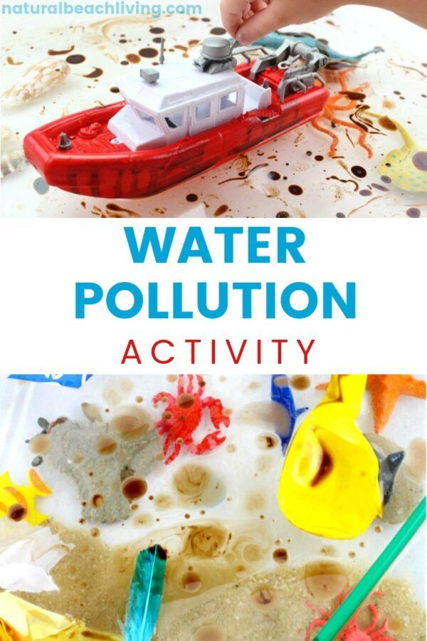 Water Pollution Activities For Kids Activities On Pollution