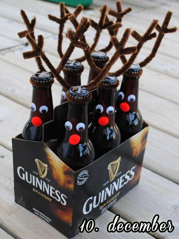 Juleøl er ikke rigtige før de får gevir på – 10 december