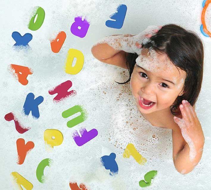 Giocattoli prima infanzia: numeri e lettere