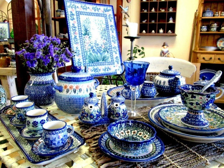 Polish Pottery & 111 best polish pottery images on Pinterest | Polish pottery ...