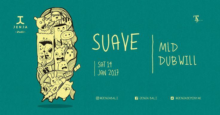 Jenja Foyer X Suave > Bali Event Calendar