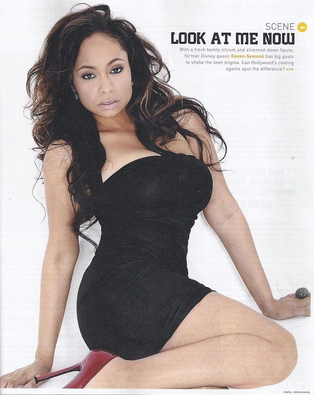 raven symone | Raven Symone shows off her new banging body in Vibe Magazine's Sexy ...