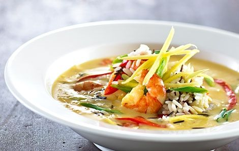 Let og enkelt suppe med en smag fra østen.