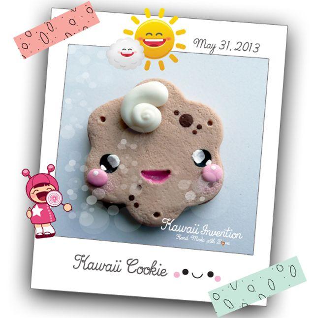 Kawaii Cookie by Kawaiiinvention.deviantart.com on @deviantART