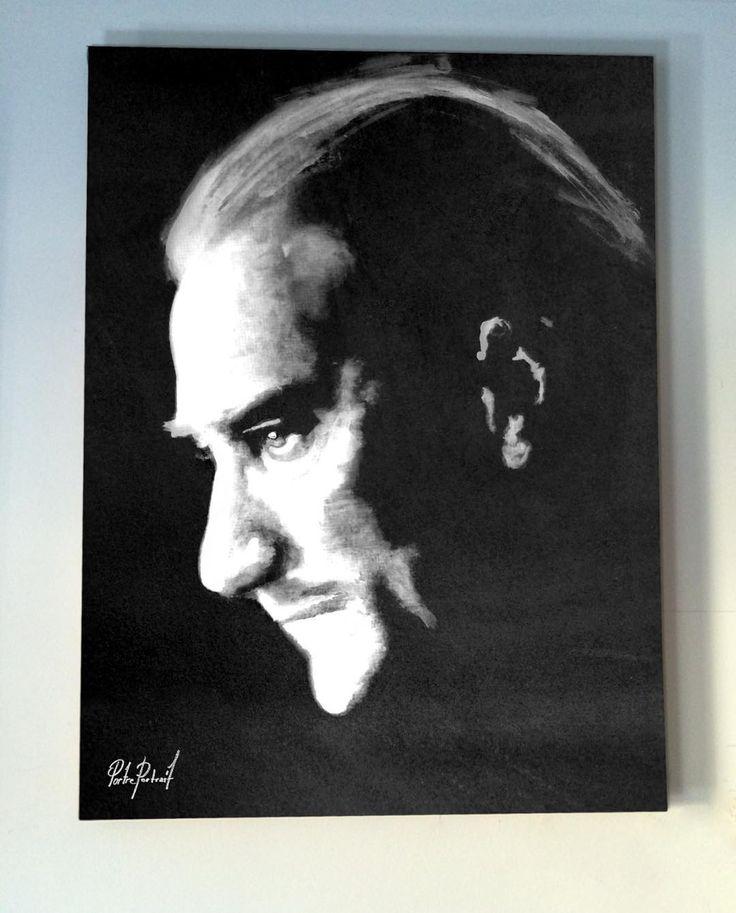 @portre.portrait  #artwork #fineart #draw #drawing #portrait #portraitart #portre #artdrawing #artofdrawing #atatürk #mustafakemal