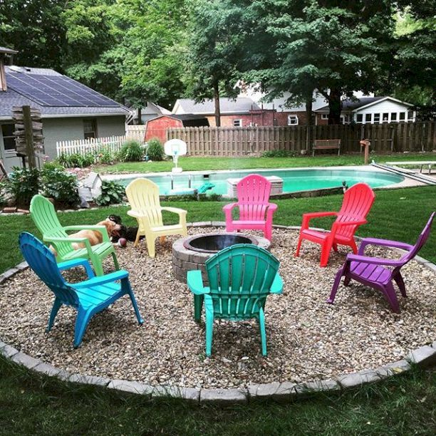 66 Simple and Easy Backyard Landscaping Ideas