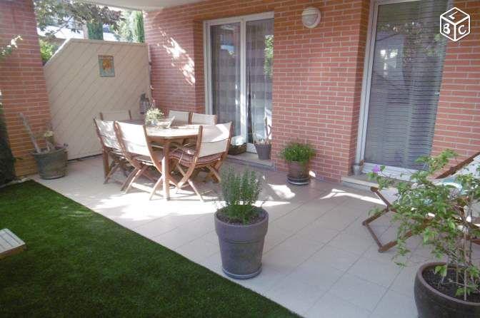 Appartement T4 Castanet - 92 m2 - 2 terrasses