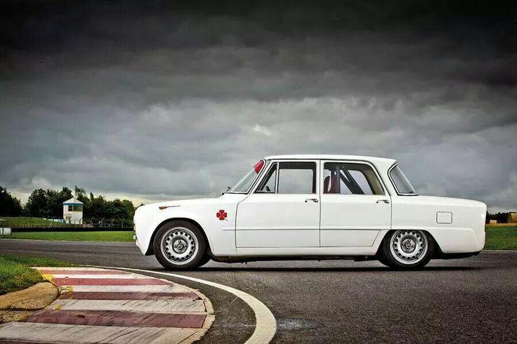 Alfa Romeo Giulia TI Super.