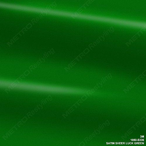 3M 1080 S336 SATIN SHEER LUCK GREEN 5ft x 12ft (60 Sq/ft) Car Wrap Vinyl Film. For product info go to:  https://www.caraccessoriesonlinemarket.com/3m-1080-s336-satin-sheer-luck-green-5ft-x-12ft-60-sqft-car-wrap-vinyl-film/