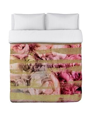 48% OFF Oliver Gal by One Bella Casa Field of Roses Duvet Cover (Pink)