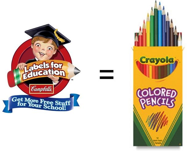 $1,400 worth of soup to get a box of colored pencils? Considering the majority of eligible products are unhealthy, this isn't much of a deal for families or schools.