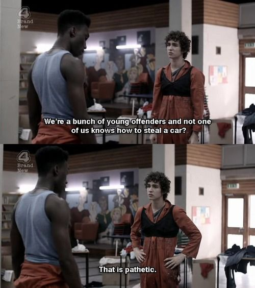 Misfits -- loved the first couple seasons.