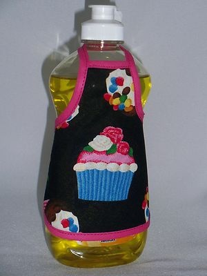 Cupcake Dish Soap Apron Cover Cozy   Call me a dork, but I've always loved these and I still want one for my kitchen!