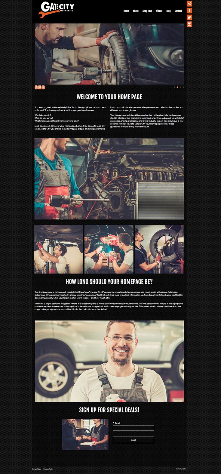 34 best 2017 zibster website templates images on pinterest role gate city zibster website template great for a mechanic or small business cheaphphosting Images