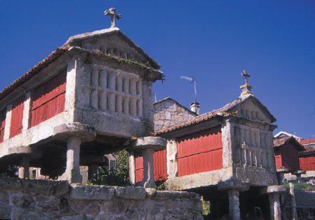 ESPAÑA HÚMEDA- Horreos en Galicia