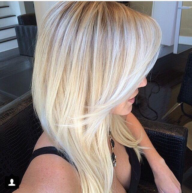 New hair color for summer. Blonde! Blonde! Blonde!