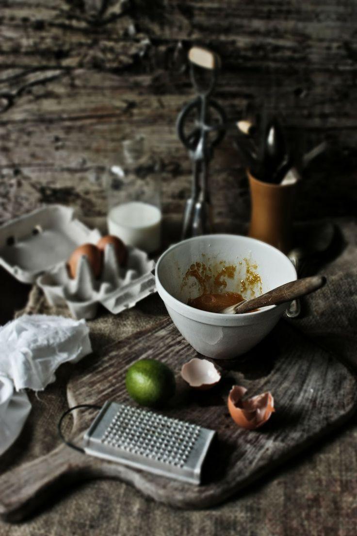Lime & Cocconut Custard Tart