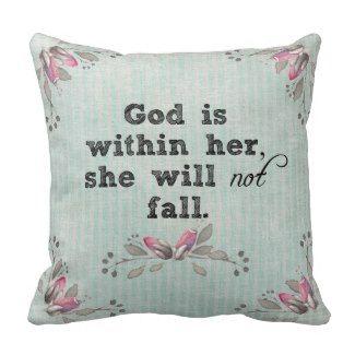 Bible Verse Pillows #faith #women #bibleverse #pillows