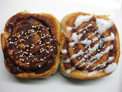 Grove luksus-kanelsnegle med marcipanfyld...