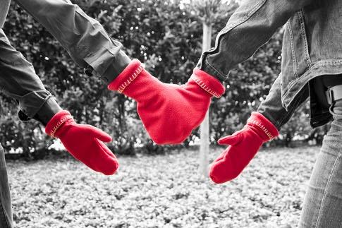 moufles pour amoureux glovers