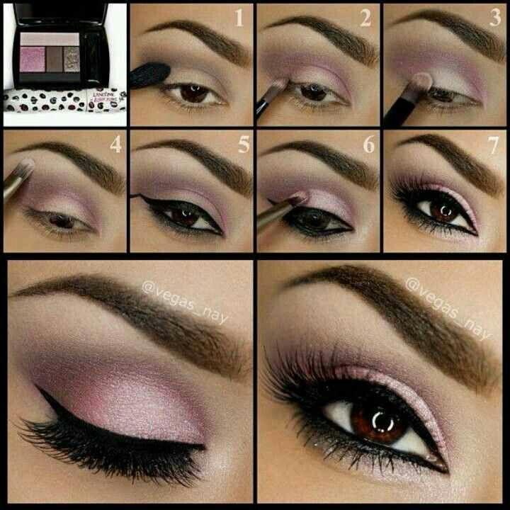 Pink smokey eye tutorial. Gorgeous www.marykay.com/cassiegeorge