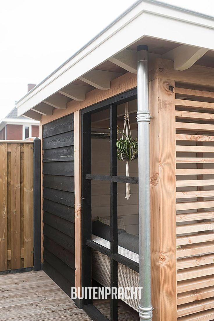 25 beste idee n over veranda open haard op pinterest huisstijlen buiten open haard en - Prieel buiten ...