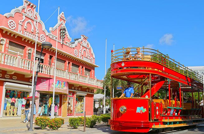 9 new things to do in Oranjestad, Aruba.  From shopping, to strolling trough main street to browsing art galleries, Oranjestad offers it all! #aruba #onehappyisland #discoveraruba