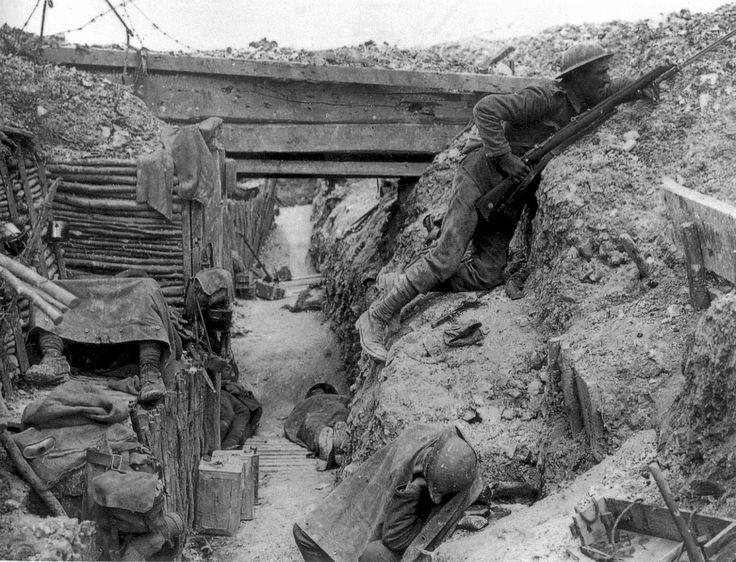 Trincheras Segunda Guerra